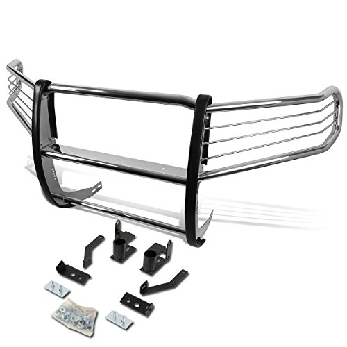 For Honda Pilot YF3/YF4 Front Bumper Protector Brush Grille Guard (Chrome)