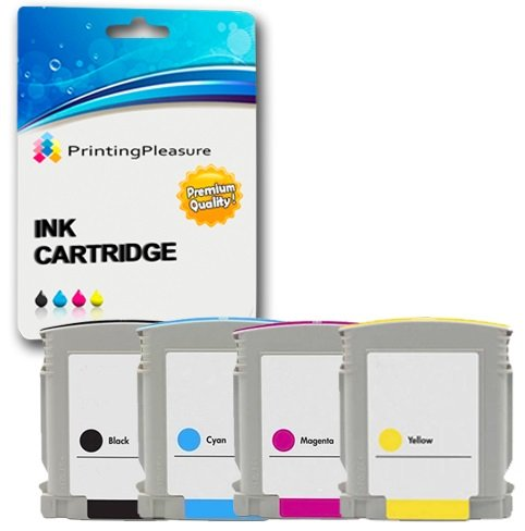 8 opinioni per Printing Pleasure KIT 4x Cartucce d'inchiostro compatibili Sostituzione per HP