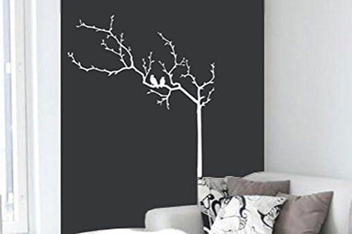 Surface Collective Pour Les Oiseaux Sticker Mural Blanc Amazon