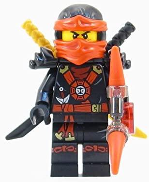 LEGO® Ninjago: Deepstone Kai Ninja Minifigure Red Aeroblade ...