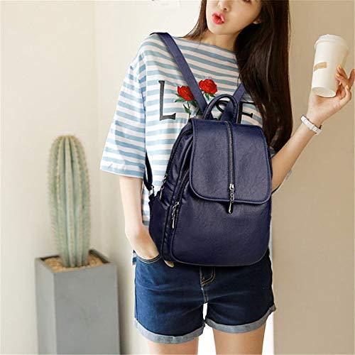 Mujer Yixin Mochila Small Azul Bolso Para TTRwZ8q