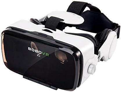 BOBOVR Z4 Xiaozhai 3D VR 3D Gafas de Visión 120 ° FOV 3D VR Virtual Reality Auricular Movie Video Game Privado Theater Con Auriculares para iPhone 6/6 Plus iPhone 7/6S Plus Samsung S8 / S8 Plus Samsung Galaxy 4.0~6.0 pulgadas IOS Android Smartphone