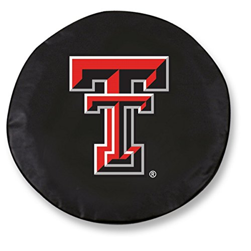 Holland Bar Stool Co. Texas Tech Red Raiders HBS Black Vinyl Fitted Car Tire Cover (30 3/4