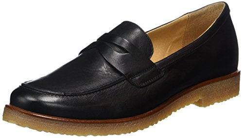 BIANCO High Front Loafer Jfm17, Mocassini Donna Nero (Nero)