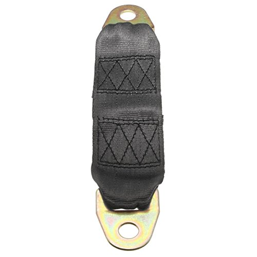 HITSAN 23cm Car Safety Belt Extending Seat Belt Extender Bolt Nut Washer Black One Piece