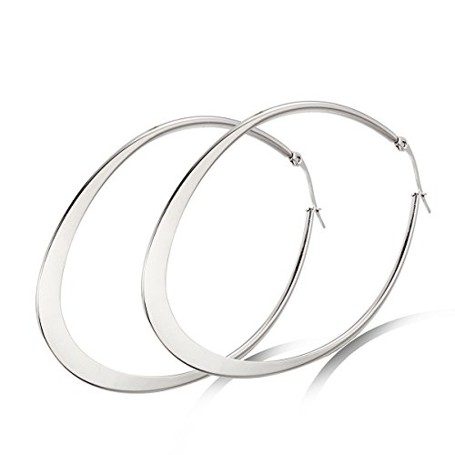 Flongo Womens Unique Stainless Earrings