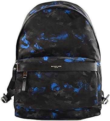Michael Kors Kent Nylon Backpack For Work School Office Travel (Ocean)