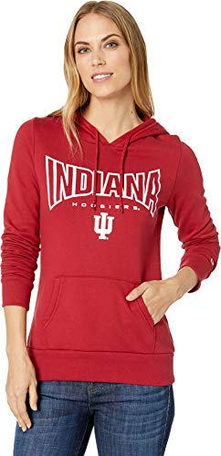- Champion College Women's Indiana Hoosiers Eco University Fleece Hoodie Cardinal 2 X-Small