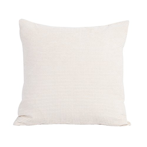 Square/Rectangle Solid Pinkycolor Printed Stuffed Cushion Ch