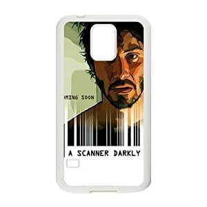 XOXOX Cover Custom A Scanner Darkly Phone Case For Samsung Galaxy S5 i9600 [Pattern-2]