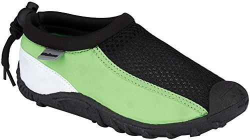 Wasserschuhe junior schwarz / grün Größe 36