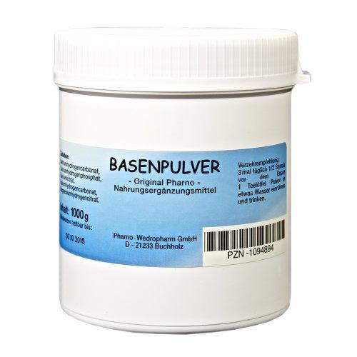 Basenpulver - Original Pharno - 1.000 g Pulver