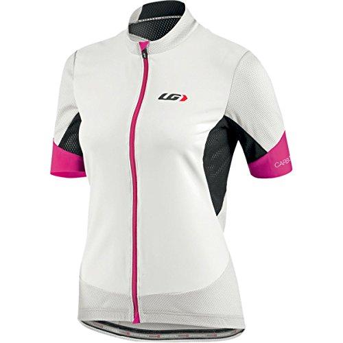 Louis Garneau Carbon Mesh Jersey - Women's White / Pink Small ()
