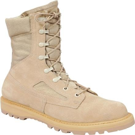 Rocky Tactical Boots Mens US Army ST Welt Cordura 7.5 WI Tan R6008 from Rocky