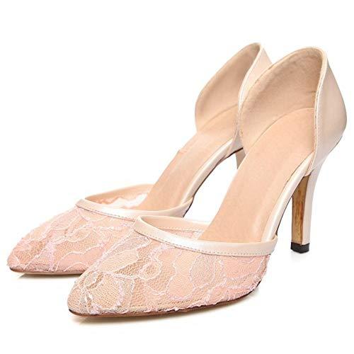 à abricot Vulusvalas pour talons Chaussures femme Rq5PB7Un