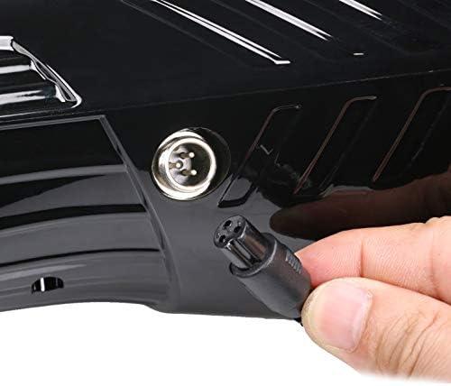 Powstar 42V 2A Adaptateur Power Fast 3broches Connecteur en ligne, chargeur de batterie pour mode poche, mode sport et Dirt Quad