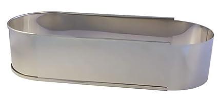 Lares - Molde para horno (forma ovalada para pan y pasteles, metal)