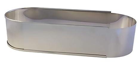 Lares Molde para horno (forma ovalada para pan y pasteles, metal)