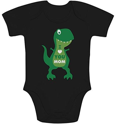 T Nero Neonato You Love Dinosauro Idea Manica Body Mom I rex Shirtgeil Regalo Corta 6BxnwFp