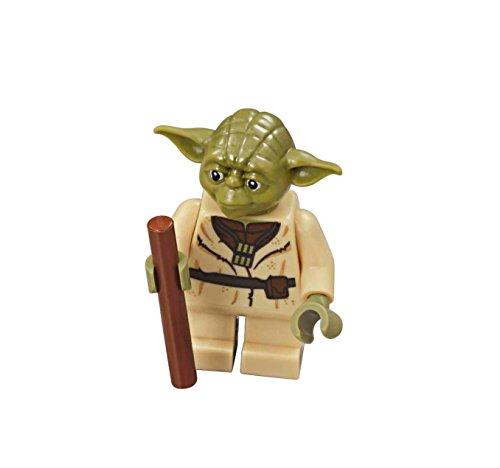 igure from Yoda's Hut - Yoda with Staff (75208) ()