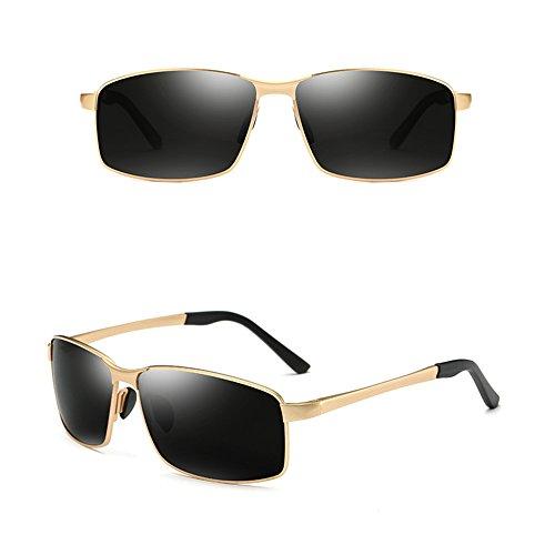 Gafas conducen que de cuadradas ULTRAVIOLETA vidrios SSSX los polarizadas los D Color E anti hombres deportivas de GYYTYJ Gafas sol 7PBwq8