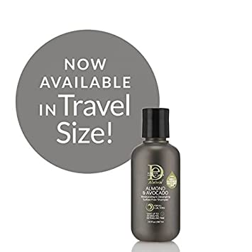 Design Essentials Almond Avocado Natural Sulfate Free Moisturizing Shampoo 30 Ounce