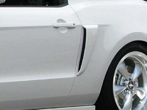 2010-2014 Ford Mustang Duraflex Boss Look Side Scoops - 2 Piece ()