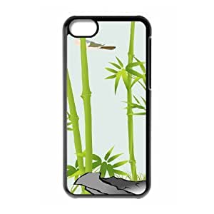 Bamboo Use Your Own Image Phone Case for Iphone 5C,customized case cover ygtg-334949