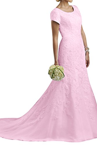Pink A-line Jewel - 4
