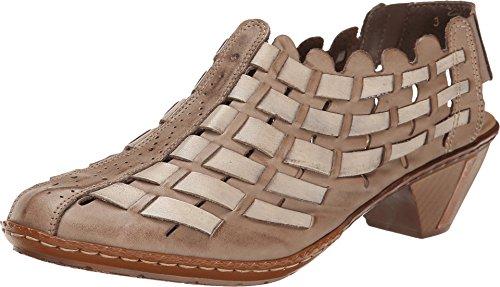 Rieker Antistress Women's Sina 46778 Taupe Leather 40 Eur...