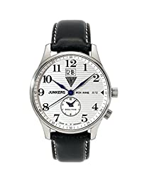Junkers Iron Annie Big Date Dual Time Men's Analog Watch 6640-1