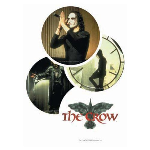 The Crow 4 Coaster Set with Collectible - Collectible Coasters