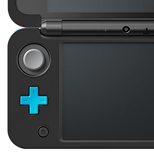 4 in 1 Protective Kit Compatible New Nintendo 2DS XL, AFUNTA Zipper Carrying Case, Silicone Cover, Stylus & 2 PET Films Screen Protectors for Top & Bottom Screens, for 2DS LL & Accessories - Black by AFUNTA (Image #7)