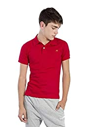 Camisa Polo para Mujer Hang Ten Chifón Rojo