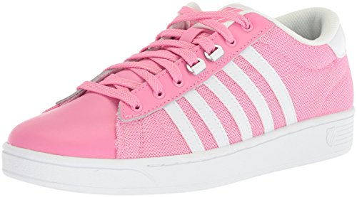 browse cheap online visit for sale K-Swiss Women's Hoke T CMF Fashion Sneaker Aroura Pink/White release dates cheap price clearance low price fee shipping bg61i6SP