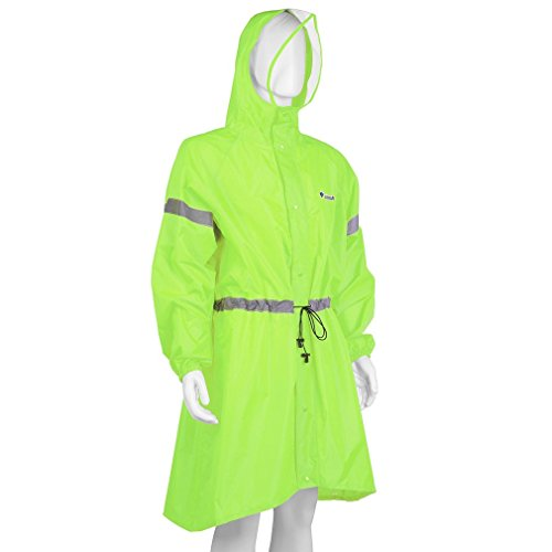 NICEAO Portable Windproof Raincoat Reflective