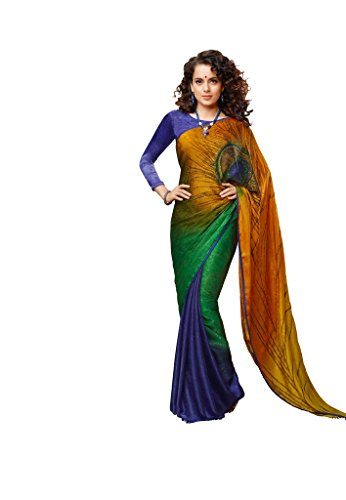 EthnicWear9-Beautiful-Bollywood-Multi-Color-Printed-Saree