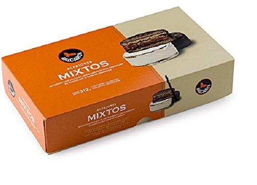 Amazon.com : Alfajores Balcarce Mixtos chocolate and dulce de leche x6 - 312 gr. / 2PACK : Grocery & Gourmet Food