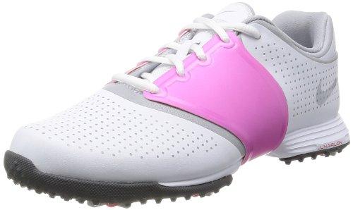 Nike Golf Women's Lunar Embellish Wide Golf Shoe, Pure Pl...