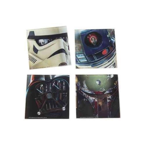 Star Wars 4 PC. Glass Coasters Set