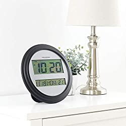 Mainstays' Digital Wall Clock, Black