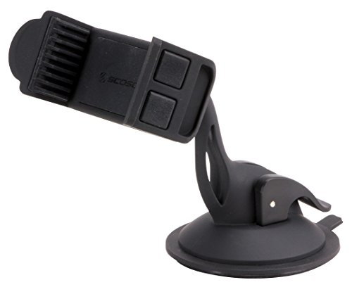 SCOSCHE HDVM-1 3-in-1 Universal Smartphone/GPS Vent or Suction Cup Mount for the Car, Home or Office