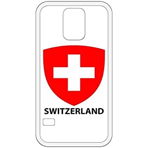 Switzerland - Coat Of Arms Flag Emblem White Samsung Galaxy S5 Cell Phone Case - Cover