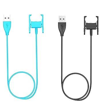 BSTOEM - Cable Cargador para Fitbit Charge 2 (55 cm, 2 ...