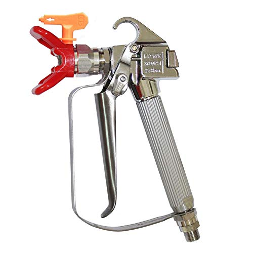 HENUO 3600PSI High Pressure Airless Paint Spray Gun with 517 Spray Tip Nozzle Guard for Graco Wagner Titan Pump Sprayer and Airless Spraying Machine