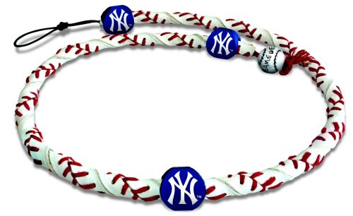 Rope York New - MLB New York Yankees Classic Frozen Rope Baseball Necklace