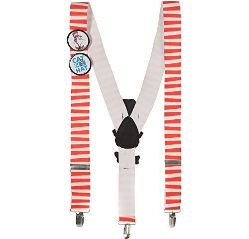 Cat in the Hat Suspenders - Dr.