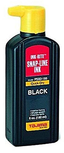 Tajima PSB2-180 INK-RITE Quick Dry Black Ink, 6 oz