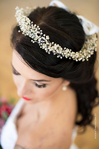 Wedding Tiara by MadeByChic