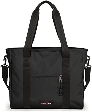 Eastpak KERR Borsa Messenger, 40 cm, 21 liters, Nero (Black)